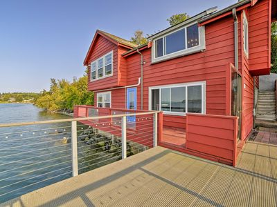 Photo for Waterfront Coupeville Home on Penn Cove w/ Deck!