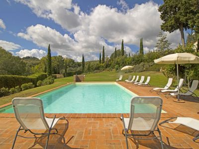 Photo for Vacation home Bandella in San Gimignano - 15 persons, 9 bedrooms