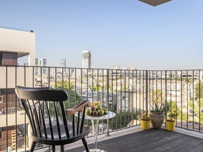 Photo for Apartment Liberty in Tel Aviv, with balcony, 2 bedrooms, 1 bathroom, 4 sleeps