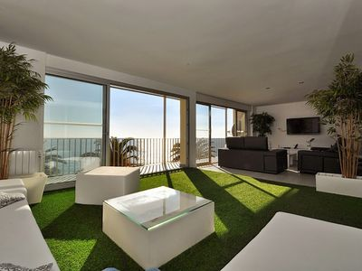 """Photo for Apartment a short walk away (443 m) from the """"Platja Sa Caleta"""" in Lloret de Mar with Internet, Air conditioning, Terrace, Balcony (754808)"""