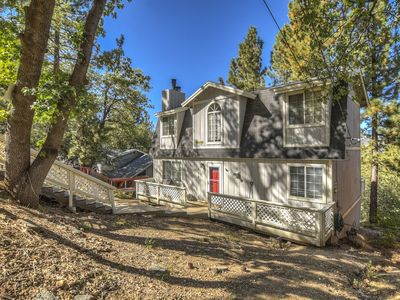 Photo for Woods View: Forest Views! Fireplace! Air Hockey! Internet! Pet Friendly! Deck! Cable TV!