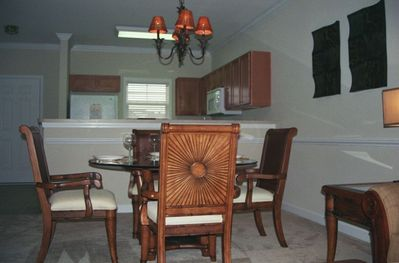 Dining room, If by chance you just want to eat in!