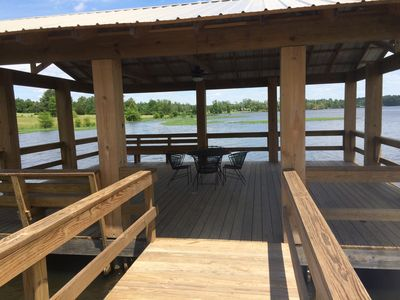 Large 24 x 22 Pier for fishing or relaxing