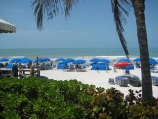Amenities are included! Chairs, cabanas, umbrellas,private beachfront restaurant