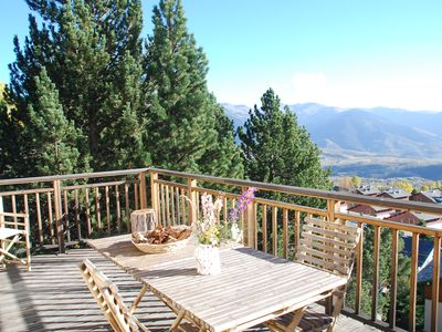 Photo for CHALET IN THE CENTER OF FONT ROMEU EXCEPTIONAL VIEW FULL SOUTH CALM AND SPACIOUS