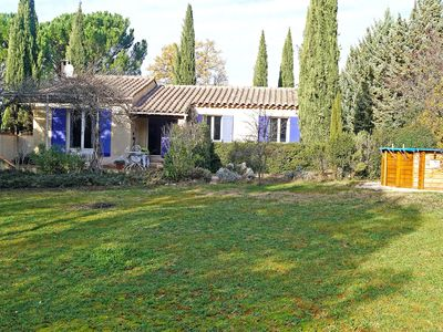 Photo for House Cypress - Relax in with a large, enclosed parklike garden.