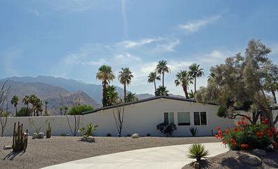 Photo for Gorgeous Alexander Mid-Century Modern Home and Casita in Racquet Club Estates