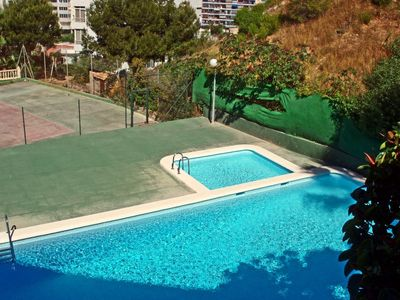 Photo for La Cala de Benidorm Apartment, Sleeps 4 with Pool and WiFi