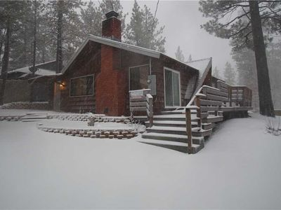 Photo for Hillcrest Cabin - WiFi.  Great Location Close to Village and Lake!
