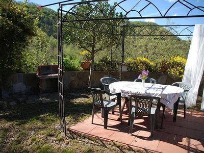 Photo for Holiday apartment Cesio for 4 persons with 2 bedrooms - Farmhouse