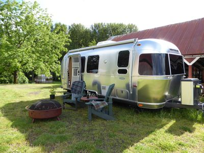 'Glamping in the cozy new Airstream!