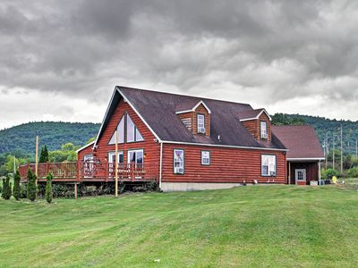 Photo for Ticonderoga Home on 8 Acres Steps from Lake George