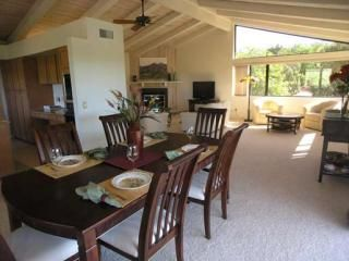 Dining Room area which looks out to deck views