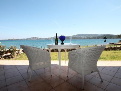 Photo for CANNIGIONE FANTASTIC VILLA SEA FRONT