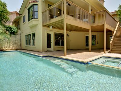 Photo for ARRIVE EDGEWATER HOME 4BD/3.5BA LAKE VIEW POOL/HOT TUB 28DAY+ ONLY Sleeps 12