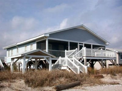 This Beautiful Oceanfront Home Has A Gazebo With Swing!