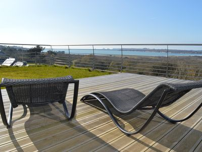 Photo for Contemporary house exceptional view of the sea