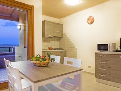 Photo for Central Apartment 'Bilocale Asfodeli 2' Close to Beach with Balcony & Sea View; Parking Available, Pets Allowed