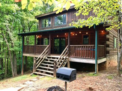 The back of the cabin