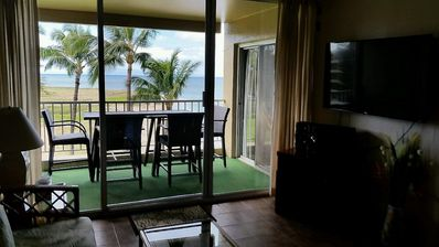 "Photo for Unit 520 Ocean Front Condo "" serene and affordable **"