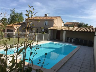 Photo for large private pool villa, Wifi, 5 bedrooms, 2 bathrooms, 10 people