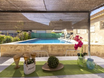 Photo for Arseguel Holiday Home, Sleeps 6 with Pool, Air Con and WiFi