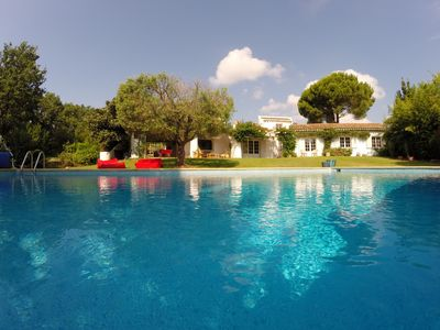 Photo for Spacious villa equipped for 12 pers. Heated private pool 12x6m - bowling alley