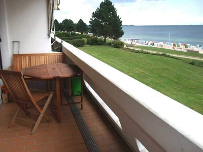 Photo for 098 - 3-room apartment - low-rise holiday park - 098 - fantastic location, sea view directly on the beach