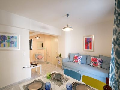 Photo for Melina Apartment next to Venetian Harbour & Beach
