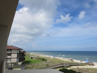 Photo for Oceanfront, Indoor/Outdoor pools, Elevators. Beautiful Kitchen! FREE WIFI Great Location!   Great Price!