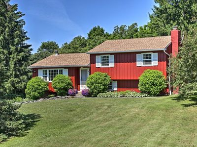 Photo for Dutchess County Guest House on Working Horse Farm!