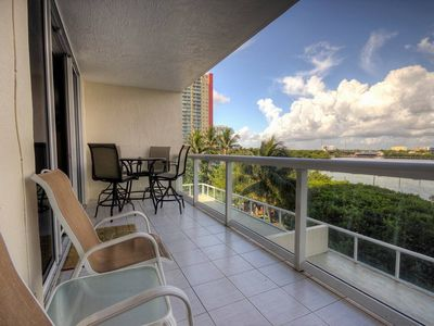 Photo for Le Golden Bay 402 - Condo 5 people, Sunny Isles