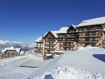 Photo for Residence at the foot of the piste, heated outdoor pool- VALMEINIER - Pierre & Vacances