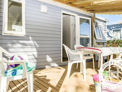 Photo for Camping Domaine de la Sainte Baume **** - Maeva Camping - Mobil Home Cozy Plus 3 Rooms 6 People Air-conditioned