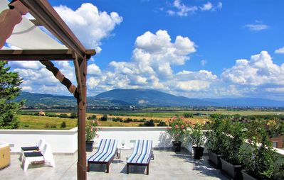 Photo for RESIDENCE with a spectacular view of the valley of Assisi!