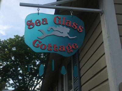 Photo for Sea Glass Cottage - 1 BR Cottage 2 Blocks From the Beach!
