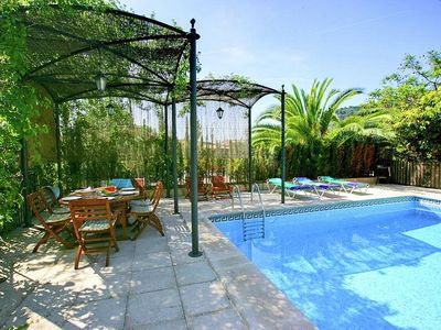 Photo for Romantic villa with pool in the center of the beautiful Valldemossa