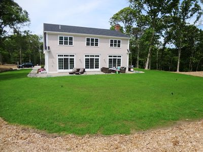 Spacious- private 1.1 acre lot abutting conservation land.  - 5 White Cedar Lane -Orleans- Cape Cod New England Vacation Rentals
