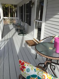 Photo for Enjoy the best of all seasons in this 4 bedroom home minutes from the water.