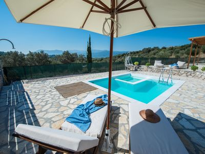 Photo for Villa ALPHA deluxe villa with pool 5km from Lefkada