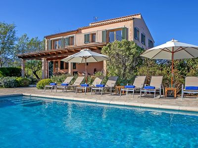 Photo for 5 bedroom Mallorcan finca with stunning rural vistas & Swimming Pool. Perfect for large groups