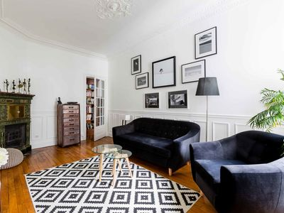 Photo for Stylish 3BR apartment, short walk from Trocadero and the Eiffel Tower, by Veeve