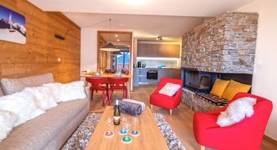 Photo for Luxury apartment, near the center and a few steps from the slopes