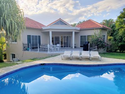 Photo for Caribbean Getaway - Entire Villa with Private Pool in a Gated, Secure Community