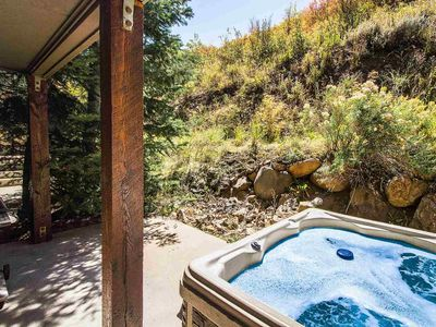Photo for **SUMMER ON SALE NOW** No Car Needed - 5 Minute Walk to Bus, Secluded Hot Tub, Grill, 2 Master Bdrms