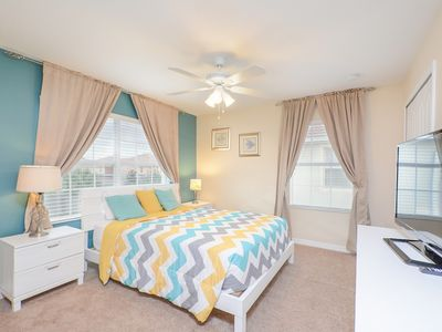 Photo for Enjoy Orlando With Us - Paradise Palms Resort - Welcome To Cozy 5 Beds 4 Baths Townhome - 4 Miles To Disney