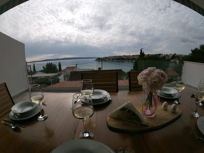 Photo for Royal, sea view apartment near Trogir