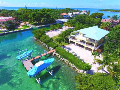 Photo for Private Duck Key Waterfront Home in Hawks Cay Resort Area