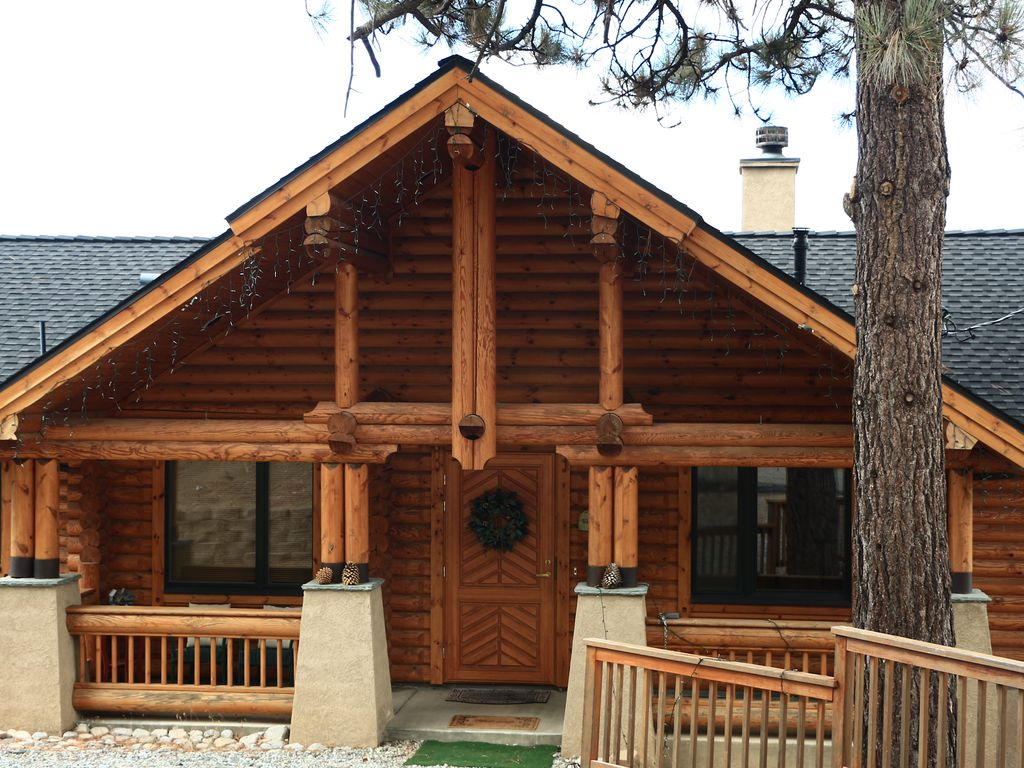idyllwild vacation rental log cabin in the sky with a
