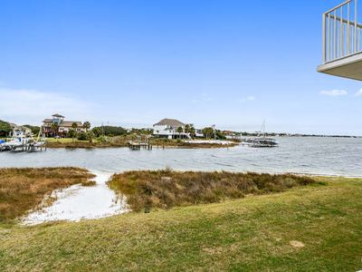 Photo for Spacious Townhouse sits on Little Sabine Bay - Great water views